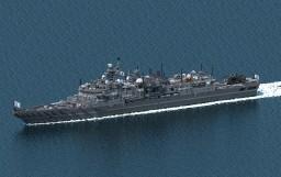 [AU] Tsubaki class Frigate Minecraft