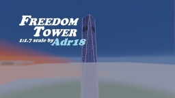 One World Trade Center (NY) scale 1:1.7 Minecraft Map & Project