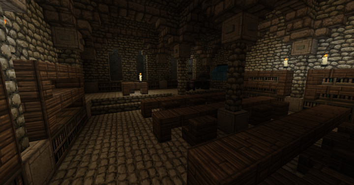 Potion Classroom in the dungeons
