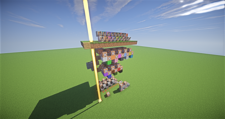 minecraft how to change the color of a beacon