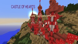 Castle Of Hearts Minecraft Map & Project