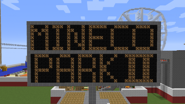 Mineco Park II Revamped Sign