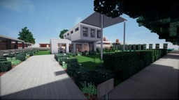 Solace, a modern house on WOK Creative Minecraft Map & Project