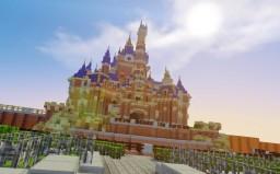 Shanghai Disneyland Minecraft