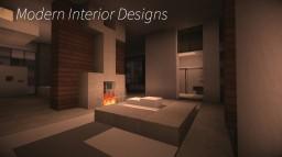 Modern Interior Designs Minecraft Project