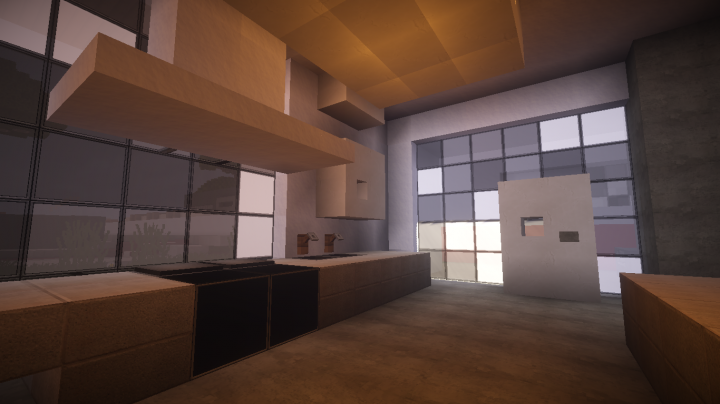 Modern Interior Designs Minecraft Project