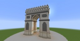 Triumphal Arch(Paris) Minecraft Map & Project