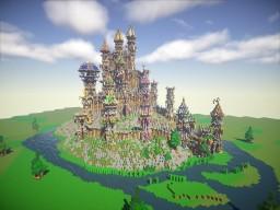 Fantasy Kingdom Minecraft Map & Project