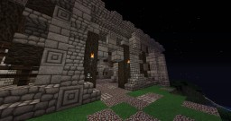 Small medieval castle. Minecraft Map & Project