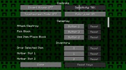 Creeper GUI Pack Minecraft Texture Pack