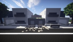 Modern attached house #6 Minecraft Map & Project