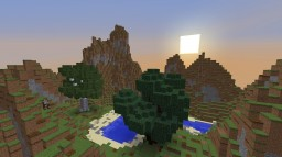 Mount Chillout (Custom Terrain) Minecraft