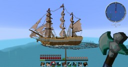 Survival Build - Ship Project. [By Endiamond] Minecraft Map & Project