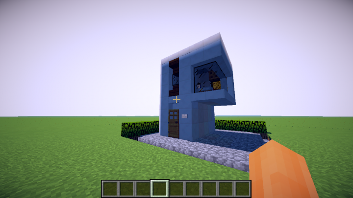 Petite Maison Moderne 5x5 Little Modern House 5x5 Minecraft Project