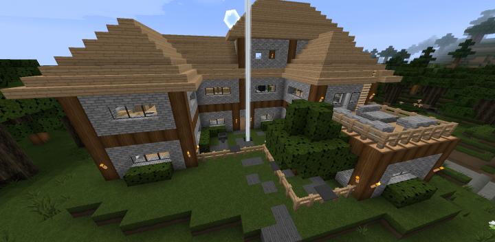 Large Starter House Minecraft Map