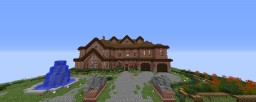 The Brick Mansion Minecraft Map & Project