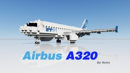 Airbus A320-214 [2:1 scale aircraft] Minecraft Map & Project