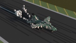 Yugoslavian Soko J-22 Orao Jet Fighter Minecraft Project