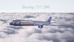 United Boeing 757-200 Minecraft Map & Project