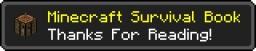 Minecraft Survival Book Minecraft Blog Post