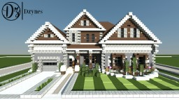 [Dzynes] Traditional House 1 Minecraft Map & Project