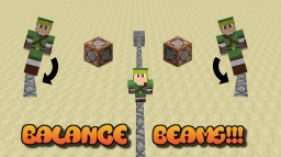 Balance Beams! Minecraft