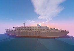 SS Sunshine Star | 60s cruise liner | By ItsWooouh and Submarinebuilder Minecraft Map & Project