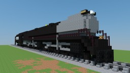 steam locomotive Big Boy Minecraft Map & Project