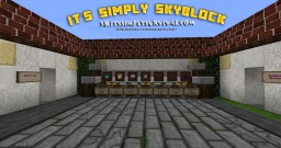 Its Simply Skyblock 1.10 - Challenges, Natural Mob Spawns, Nether islands, Survival, Skyblock Minecraft Server