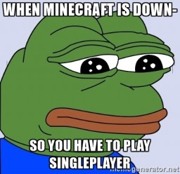 Why Minecraft Singleplayer Survival is Overrated Minecraft Blog Post