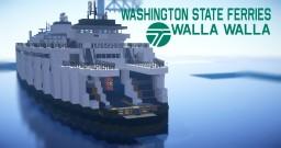 【Operation Infinite Ocean】 - Washington State Ferries MV.Walla Walla Minecraft Map & Project