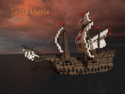 Santa Maria Ship Minecraft Map & Project