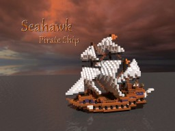 Seahawk - Pirate Ship Minecraft Map & Project