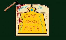 Camp Crystal Meth Minecraft Map & Project