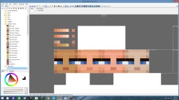 Picking the right skin colour. Minecraft