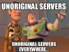 The Many Types of Unoriginal Servers