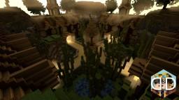 Simplistic Hub || 4 Portal Hub Minecraft Map & Project