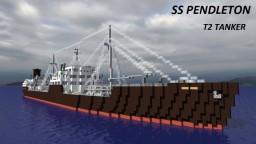 SS Pendleton - T2 Tanker [full interior] Minecraft Project