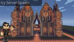 Icy Server Spawn Minecraft Map & Project