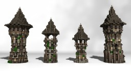 Medieval Tower Pack Minecraft Map & Project