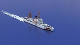 USCGC WHEC Treasury class Minecraft Map & Project