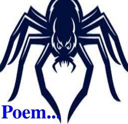 {Poem} Spider! Minecraft Blog Post
