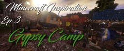 Minecraft Inspiration: Gypsy Camp Minecraft Project