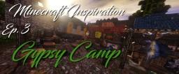 Minecraft Inspiration: Gypsy Camp Minecraft Map & Project