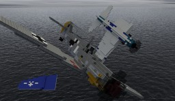 Messerschmitt Bf-109 F (4:1) Minecraft Map & Project