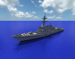 Arleigh Burke Class Flight 2A (DDG-96  Bainbridge ) Minecraft Map & Project