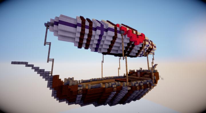 Skytowns Airship