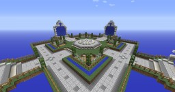 Server Spawn Hub Minecraft Map & Project