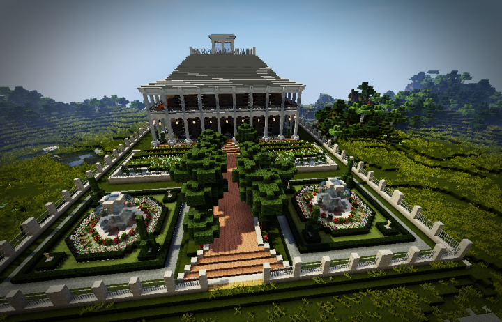 plantation mansion minecraft project