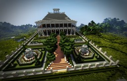 Plantation Mansion Minecraft